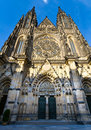 St. Vitus Cathedral , Prague, Czech Republic Stock Image
