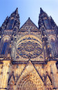 St vitus cathedral view of prague czech republic Stock Photography