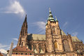 St Vitus in Prague - Czech Republich - Europe Royalty Free Stock Photos