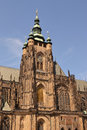 St Vitus in Prague - Czech Republich - Europe Stock Image