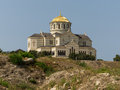 St vladimir s cathedral in cherson view of chersonesos Royalty Free Stock Images