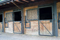 Stables Royalty Free Stock Photo
