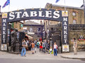 Stables Market. A famous alternative culture shops in Camden Tow Royalty Free Stock Photo