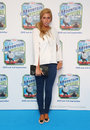 Stacey solomon arriving for thomas friends blue mountain mystery premiere held at the vue cinema london picture by henry harris Stock Photography