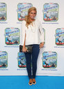 Stacey solomon mountain arriving for thomas friends blue mystery premiere held at the vue cinema london picture by henry harris Royalty Free Stock Photos