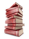 Stack of books. Education. 3D icon  Stock Images