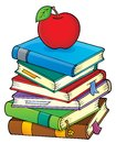Stack of books theme image 2 Royalty Free Stock Photo