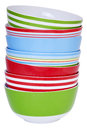 Stack of Bowls Stock Photo