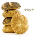 Stack of Bread Stock Image