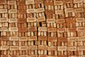 Stack of bricks for sale in dhaka bangladesh february on february low quality brick is the only available Stock Photos