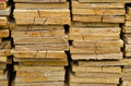 Stack of Building Lumber Stock Photo