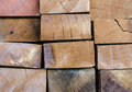 Stack of building lumber texture Royalty Free Stock Photo