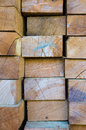 Stack of building lumber texture Stock Photo