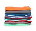 Stack of clothing Stock Photos