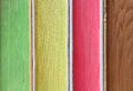 Stack of colorful books in closeup detail thick Royalty Free Stock Image