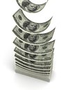 Stack of Dollar Royalty Free Stock Images