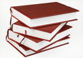Stack of four books Royalty Free Stock Photo