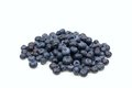 Stack of fresh blueberries Royalty Free Stock Photo