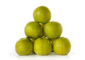 Stack of Granny Smith apples Royalty Free Stock Photography