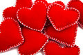 Stack of Hearts Royalty Free Stock Photography