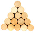 Stack of lumber Stock Images