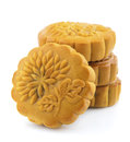 Stack of Mooncakes Royalty Free Stock Photo
