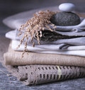 Stack-O-Towels Royalty Free Stock Photo