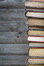Stack of old books copyspace for your text Royalty Free Stock Photography