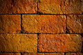 Stack old red bricks blank block brick broken brown building clay construction damaged development Royalty Free Stock Photo