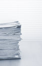 Stack of paper documents Royalty Free Stock Photo