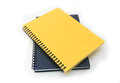 Stack of ring binder book or notebook Royalty Free Stock Photo