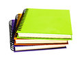 Stack of ring binder book Royalty Free Stock Photo
