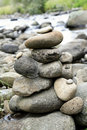 Stack of rocks Royalty Free Stock Photo