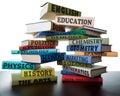 Apilar de libros