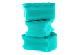 Stack of sponges Royalty Free Stock Photo