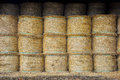 Stack of Straw Rolls Royalty Free Stock Photo