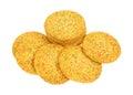 Sugar Cookies Sprinkles Group Royalty Free Stock Photo