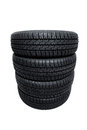 Stack of tires Royalty Free Stock Photo