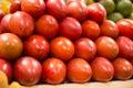 Stack of tree tomato tamamoro, tamarillo in the Royalty Free Stock Photo