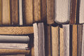 Stack Of Used Old Books Royalty Free Stock Photo