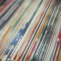 Stack Of Vinyls