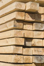 Stack of wooden boards. Royalty Free Stock Images