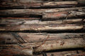 Stack wooden logs Stock Photos