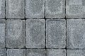 Stacked bricks blue gray colored in regular pattern Stock Photos