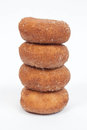 Stacked Donuts Royalty Free Stock Photo