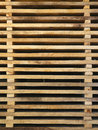 Stacked horizontal boards Royalty Free Stock Photos