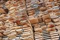 Stacked Lumber Royalty Free Stock Image