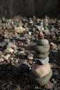 Stacked rocks Stock Photos