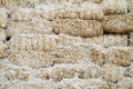 Stacked Straw Hay Bails Royalty Free Stock Images