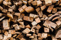 Stacked tree wood logs Royalty Free Stock Photo